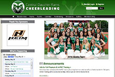 CD Rams Cheerleading