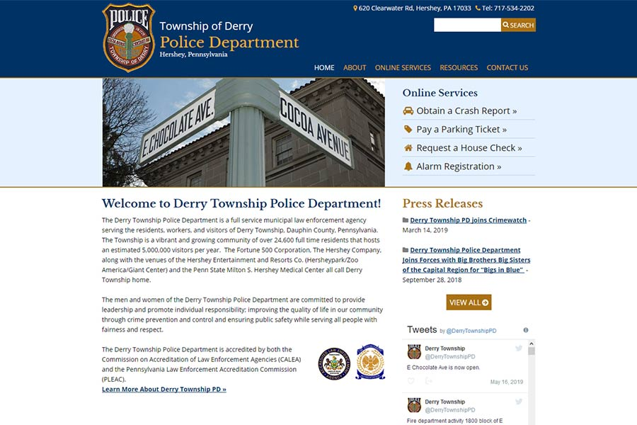 Derry Township, PA Police Department