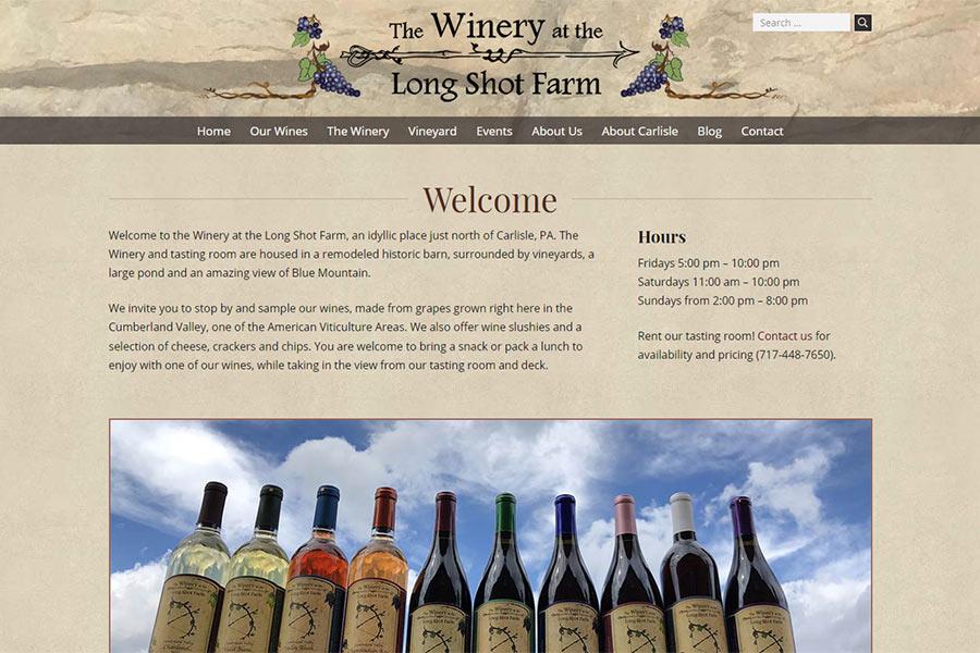 The Winery at the Long Shot Farm